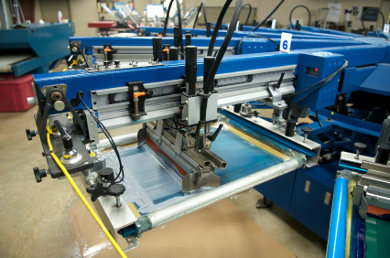 UV LED Curing for Screen Printing