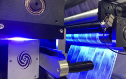FireJet UV LED curing for Flexo